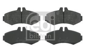Febi Bilstein 16094 - JGO PASTILLAS FRENO VW-AUDI PKW JGO