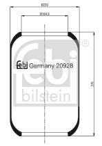 Febi Bilstein 20928 - AMORTIGUADORES